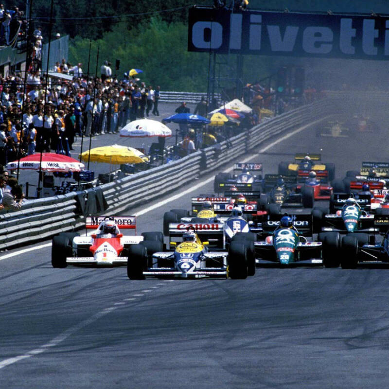 Inspirationall image for Belgiens GP – SPA