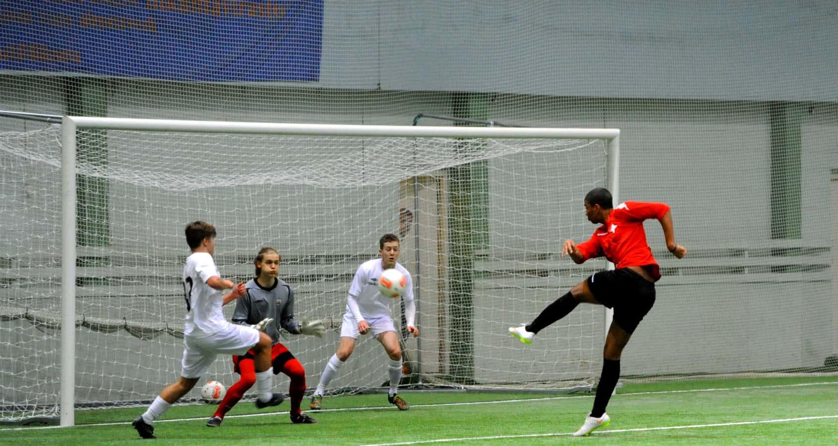 Fotbollsläger på Åland