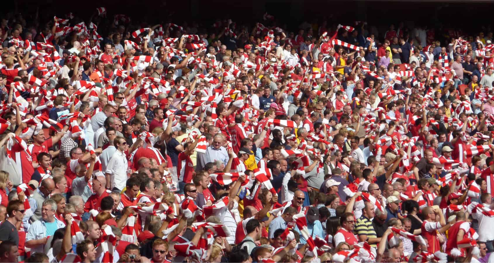 Fotbollsresa, Arsenal, Fans, Supporters