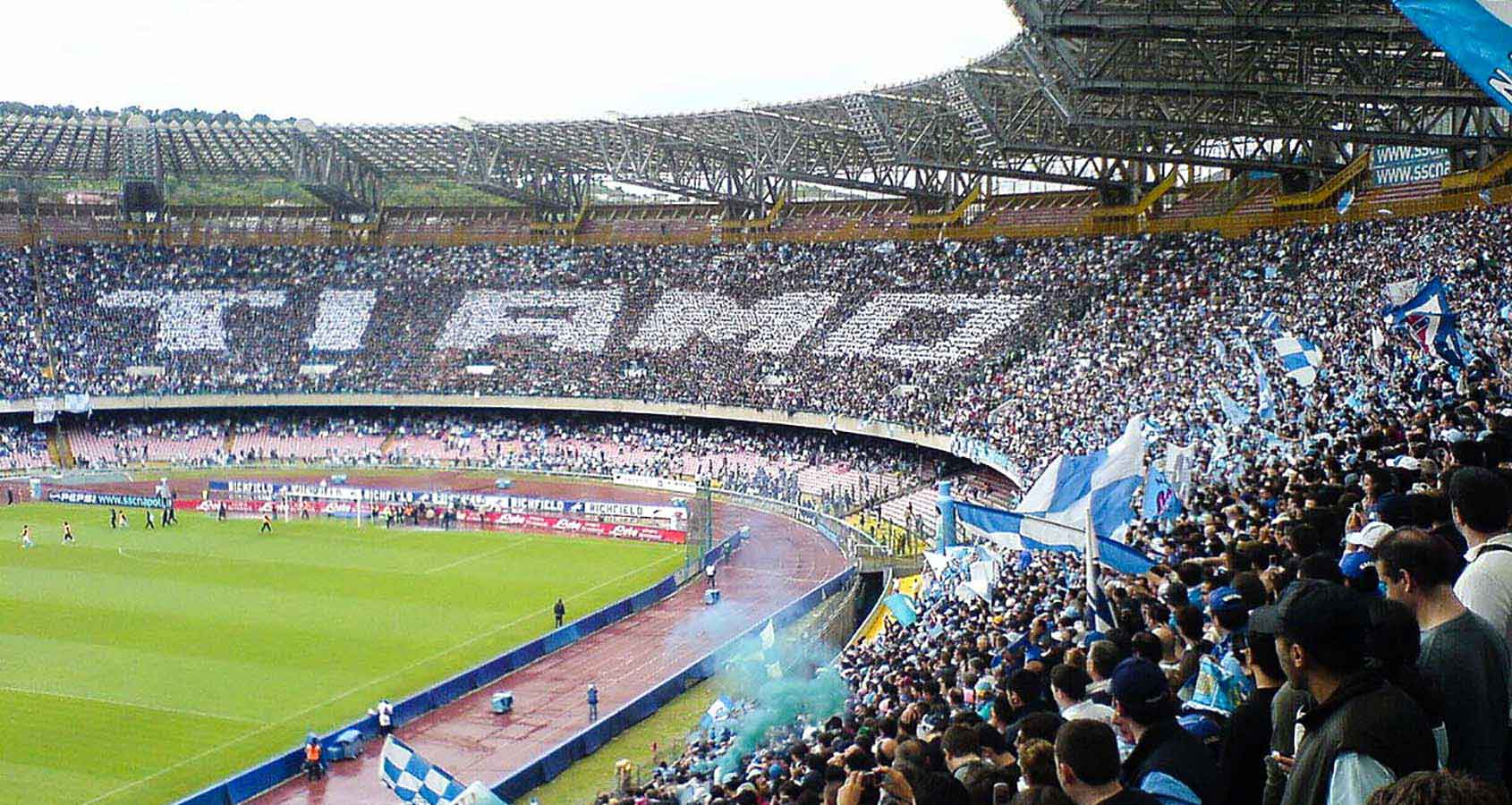 Fotbollsresor, Napoli Biljetter, Neapel, Italien, Serie A, Sao Paolo Stadion