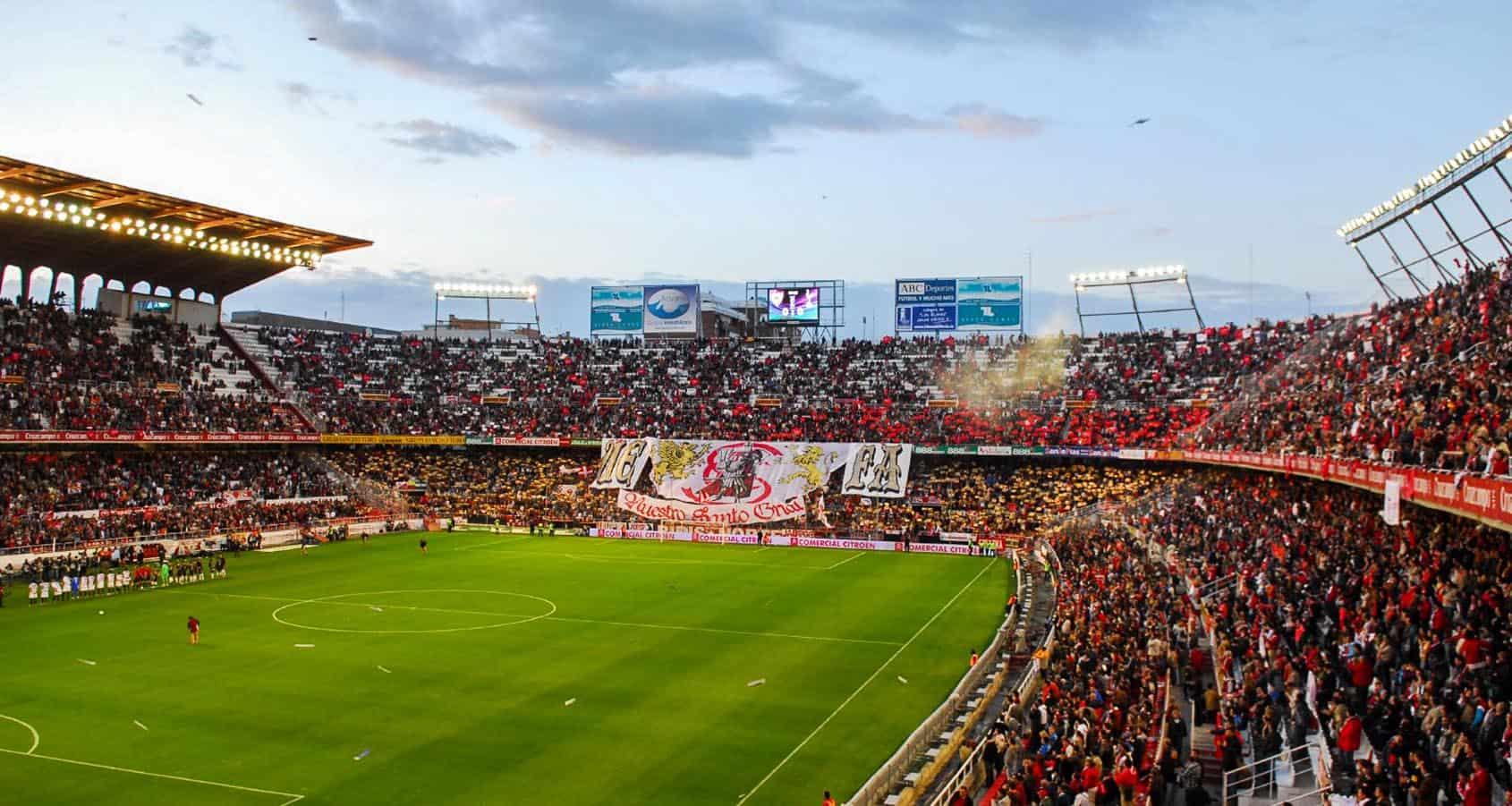 Fotbollsresor, Sevilla FC Biljetter, Spanien, Estadio Ramón Sánchez Pizjuán