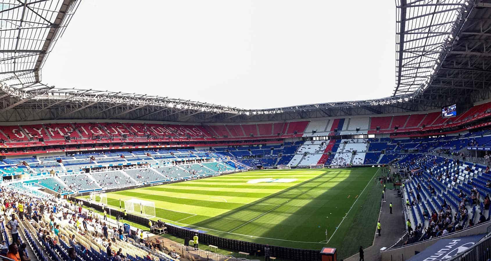 Fotbollsresor, Olympique Lyonnais Biljetter, Parc Olympique Lyonnais Frankrike