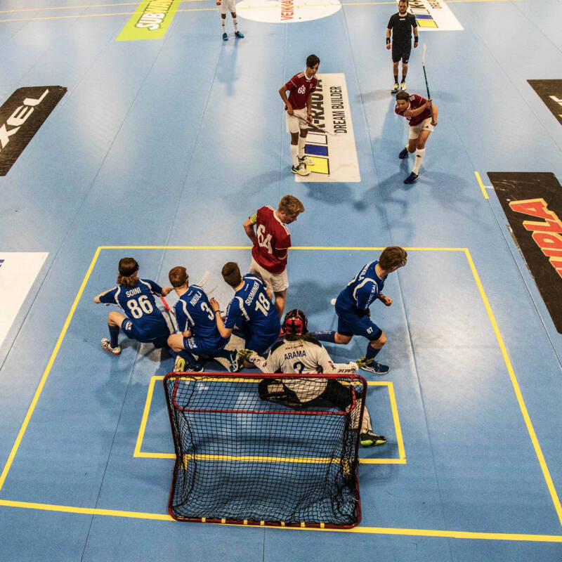 Inspirationall image for Tallink Floorball Tournament (Ungdomar)