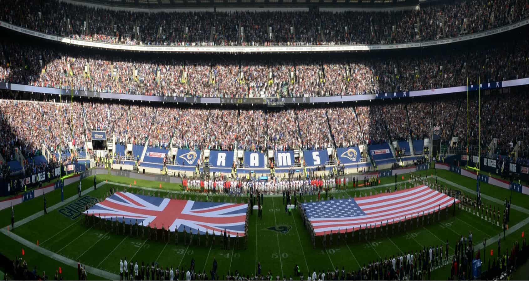 Wembley Stadium, NFL, NFL-resa, London, England