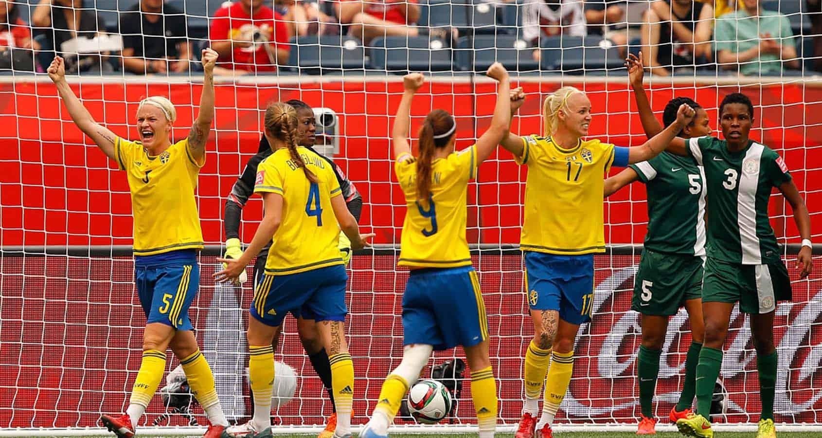 Fotbolls-VM, Sverige