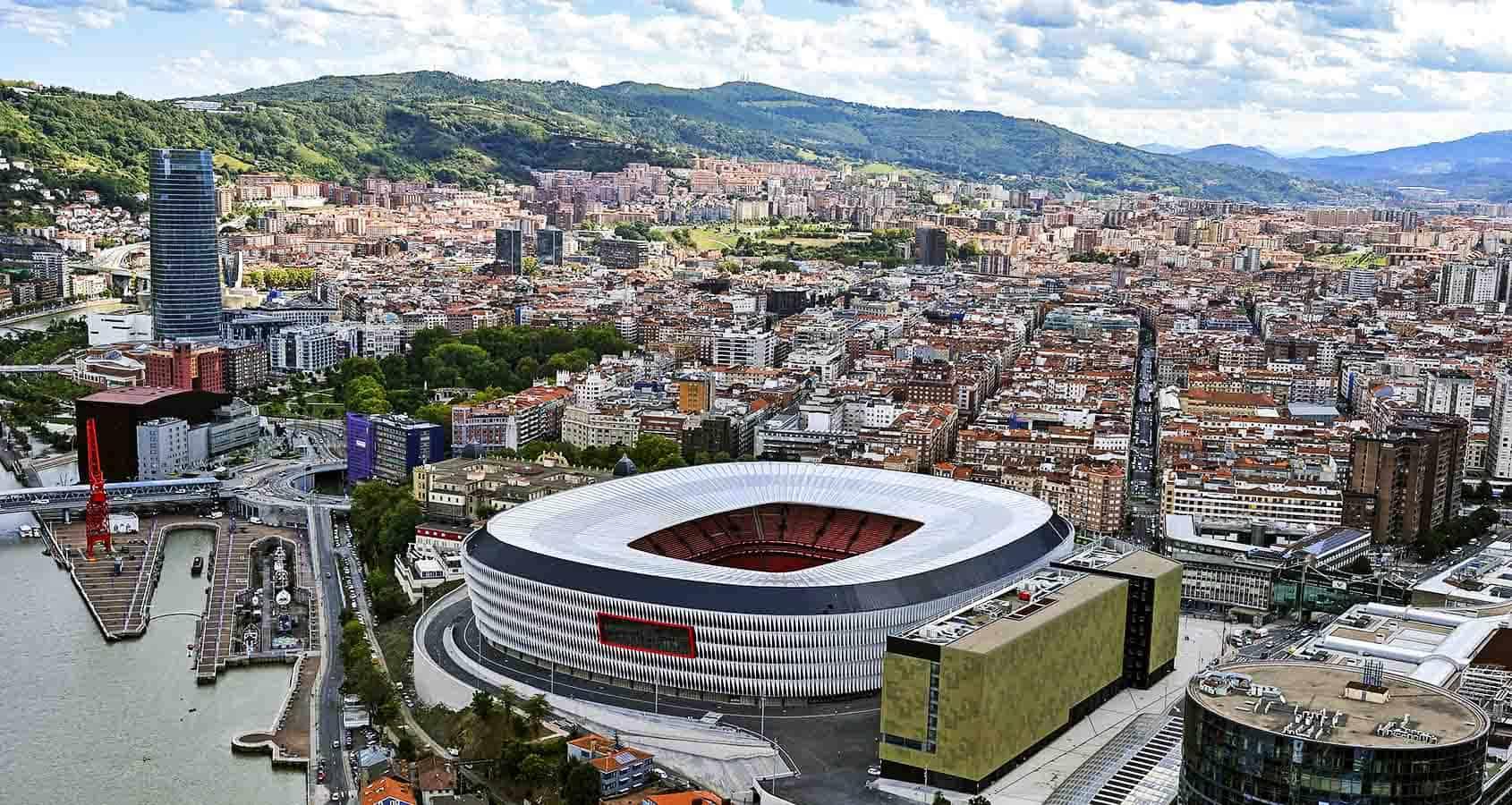 Fotbollsresor, Bilbao, La Liga, Spanien, Estadio San Mamés