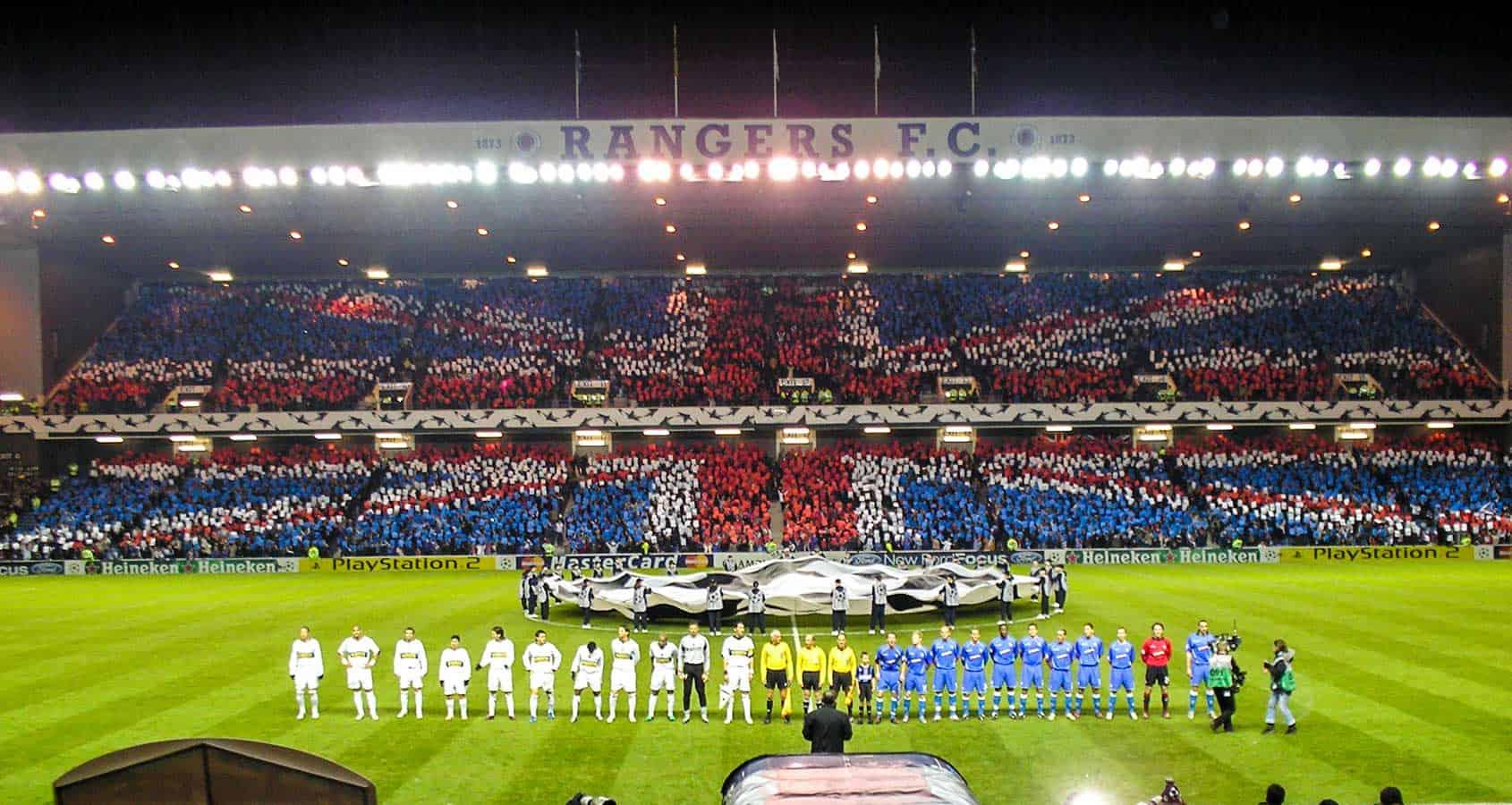 Fotbollsresor, Glasgow Rangers Biljetter, Scottish Premiership, Skottland, Ibrox Stadium
